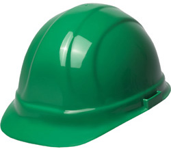 ERB Omega II Standard Green Hard Hat | Customhardhats.com