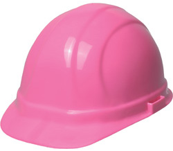 ERB high visibility pink hard hat
