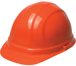 ERB Omega II Standard - Orange Hard Hat | Customhardhats.com