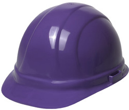 ERB Omega II Standard - Purple Hard Hat | Customhardhats.com