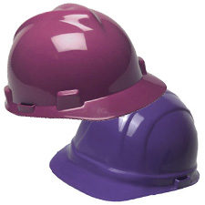 Purple Hard Hats