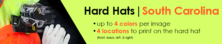 Custom Hard Hats for Customers in South Carolina | Customhardhats.com
