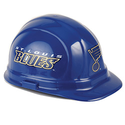 St. Louis Blues Team Hard Hat | Customhardhats.com
