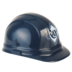 Tampa Bay Rays Team Hard Hat | Customhardhats.com