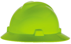 MSA V-Gard Full Brim Hard Hats | CustomHardHats.com