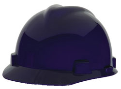 MSA V-Gard® Standard Dark Blue Hard Hat