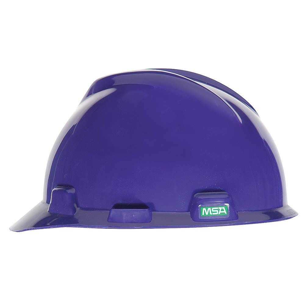 MSA V-Gard Standard purple hard hat