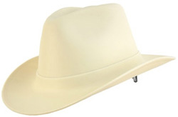 Western Cowboy Tan Hard Hat