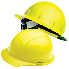 Yellow Hard Hats