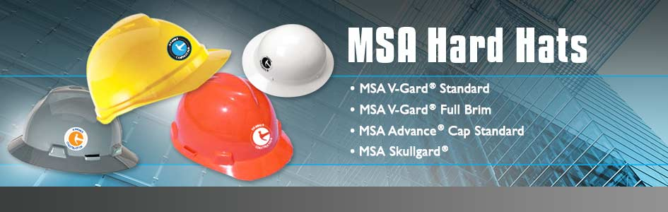 Custom Hard Hats - MSA Hard Hats